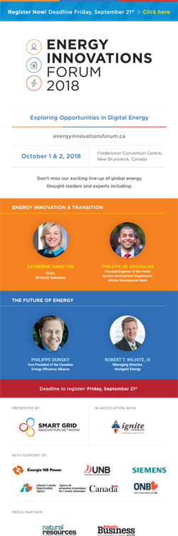 Energy Innovations Forum 2018